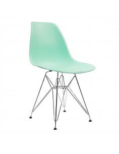 Krzesło DSR Milano miętowe