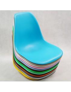 Krzesło ELIOT szare - ekoskóra