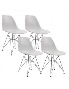 4 krzesła DSR Milano jasno...