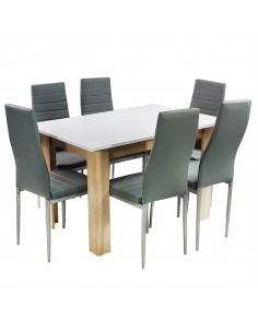 Zestaw stół Modern SW i 6...