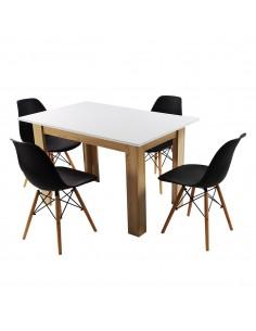 Zestaw stół Modern SW i 4...