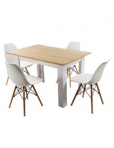 Zestaw stół Modern WS i 4...