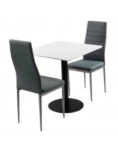 Zestaw stół Dakota 70x70 cm...