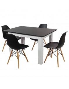 Zestaw stół Modern WB i 4...