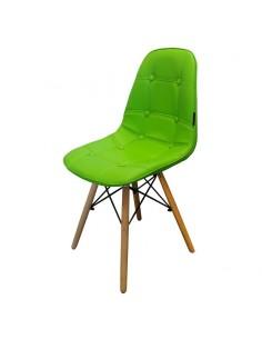 Krzesło Ekoskóra EPC Zielone