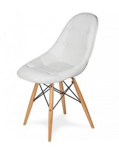 Krzesło Ekoskóra EPC Białe