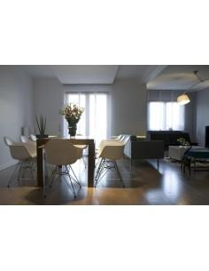 Stół DTW 100x100cm Biały