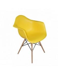 Fotel DAW Żółty