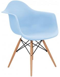 Fotel DAW Niebieski