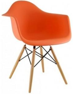 Fotel DAW Pomarańczowy