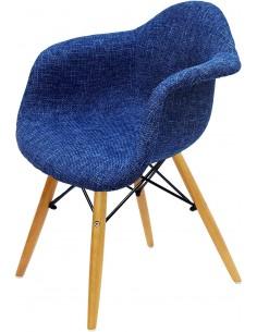 Fotel DAW Niebieski...