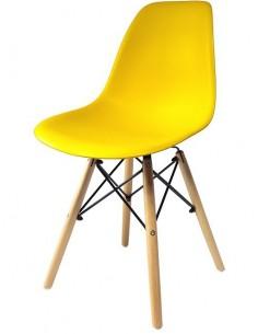 Krzesło DSW Milano Żółte