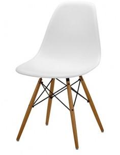Krzesło DSW Milano Białe