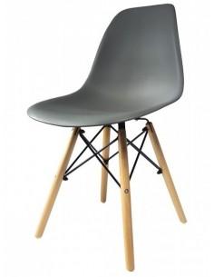 Krzesło DSW Milano ciemno...