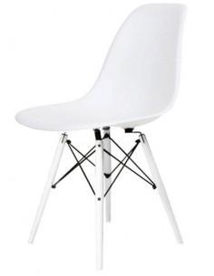 Krzesło DSW Milano Białe -...